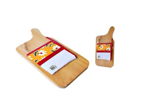 tabla para picar alimentos de madera
