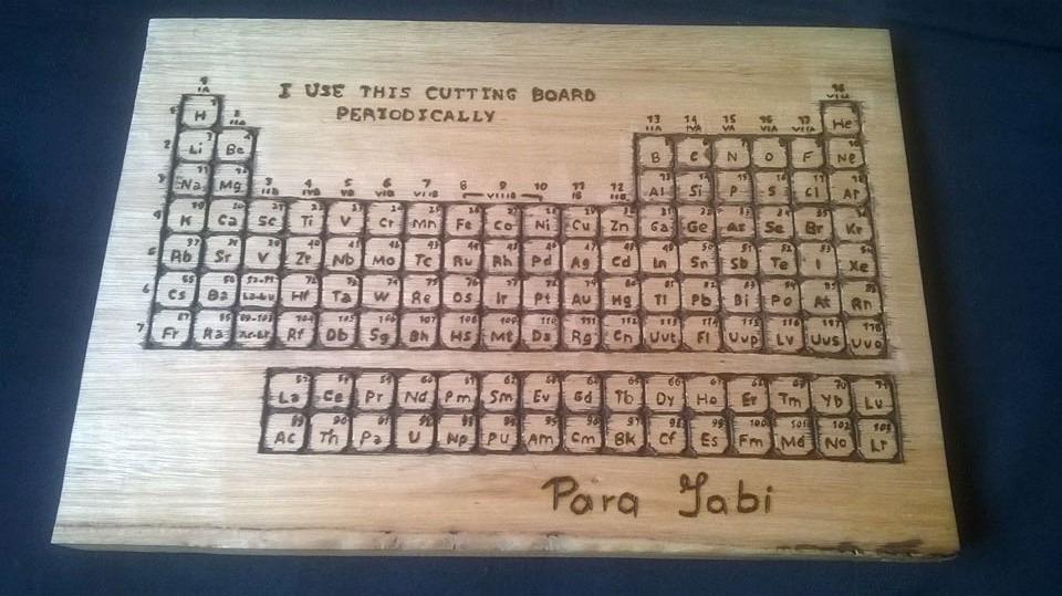 Tabla periodica tallada en madera 180000 en mercado libre tabla periodica tallada en madera cargando zoom urtaz Choice Image