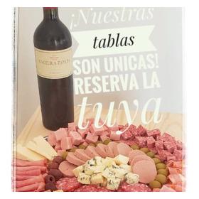 Tabla Picada Premium Con Vino
