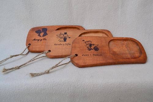 tabla picada souvenir casamiento personalizado - 1 cuenco