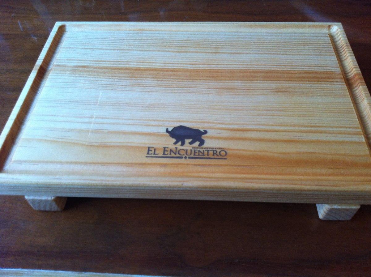 Tabla plato madera pino carnes picar sushi 19 x 30 con - Tablas de madera precio ...
