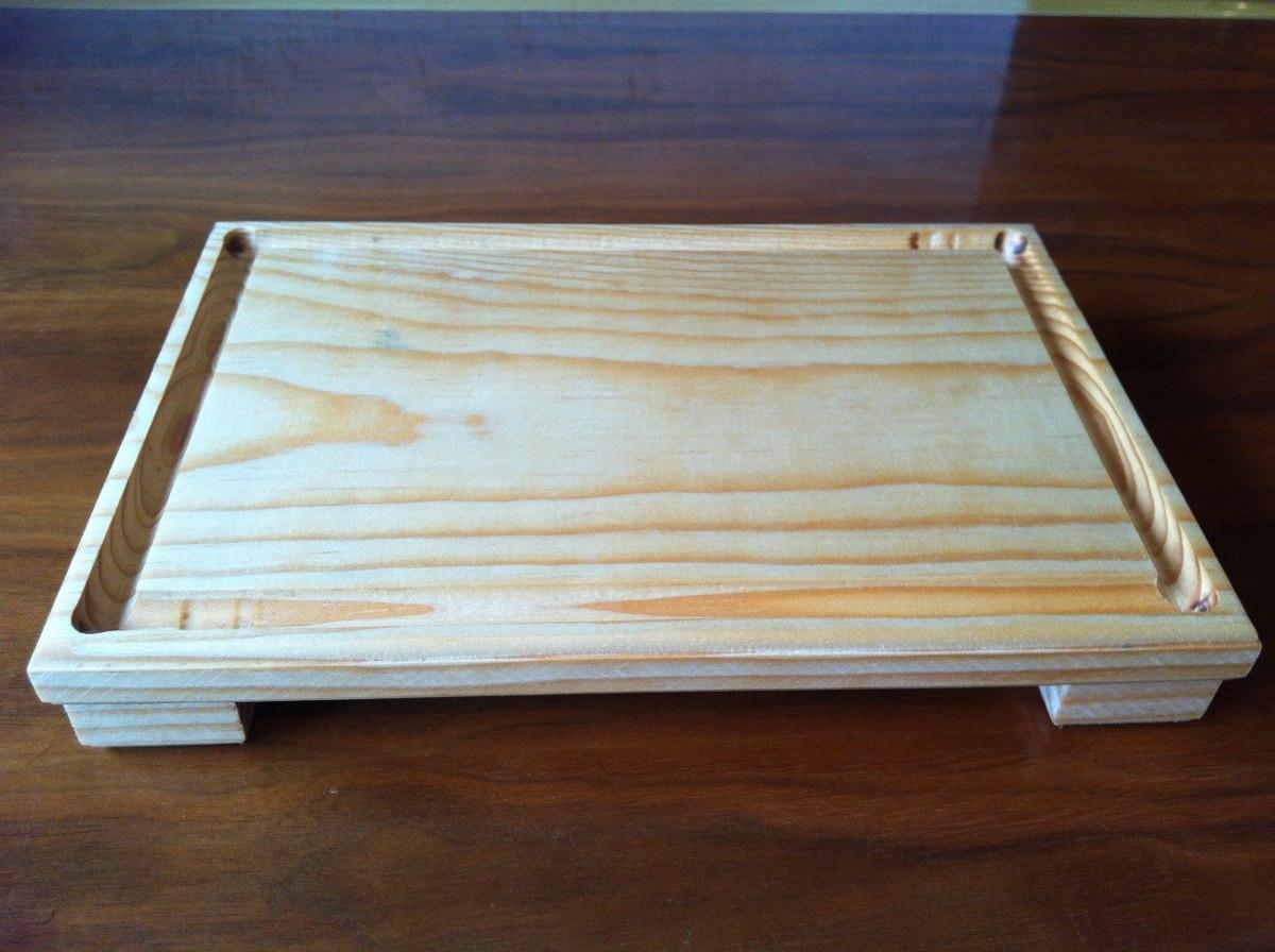 Tabla plato madera pino para carnes sushi con logo 20 x 30 en mercado libre - Madera de pino ...