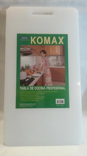tabla prof. acrílica d/cocina 50 ctms ×27,5 ctms× 1,5c komax