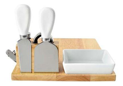 tabla quesos con kit de vinos y bowl de botanas