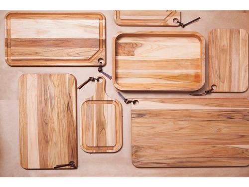 tabla rectangular con mango para asado tramontina 40x21x18cm