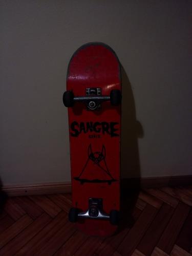 tabla skate maple - marca: sangre usada