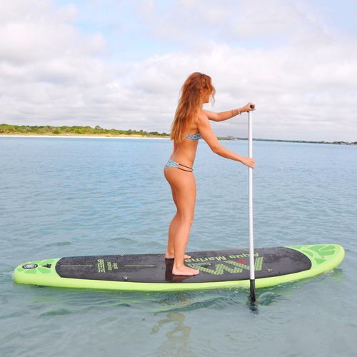 tabla stand up paddle surf inflable aquamarina breeze 95kgs