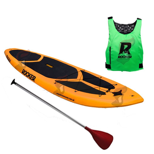 tabla stingray stand up rocker kayak remo chaleco salvidas