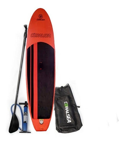 tabla sup standup paddlesurf 8`5 coralsea completo kit swell