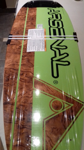 tabla wakeboard arsenal usa con botas brandon, regalo!!!!