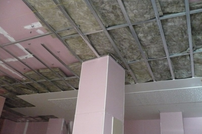 Tablaroca aislamiento de ruido y control t rmico en mercado libre - Materiales para estucar paredes ...