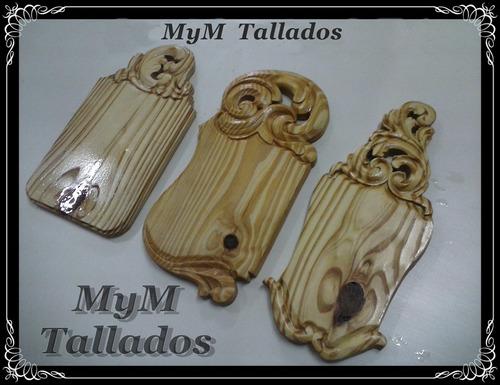 tablas asados o picadas talladas a mano diseños unicos