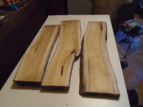tablas cepilladas rusticas con cortesa