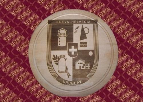 tablas de asado grabadas con tu diseño, platos de madera