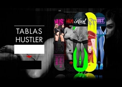 tablas de skate hustler skateboards maple canadiense