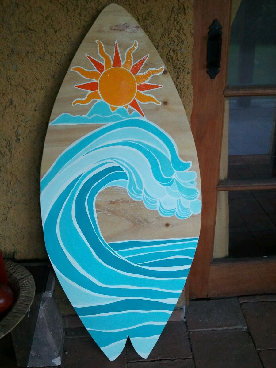 tablas de surf decorativas