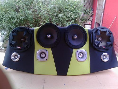 tablas empotradas para sonido