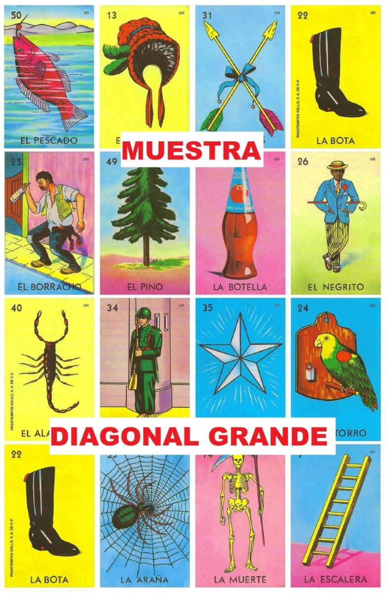 image regarding Printable Loteria Mexicana referred to as Optimum Style and design Designs Tablas De Loteria Mexicana Para Imprimir