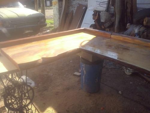 tablas maderas rusticas barras mesadas pasaplato