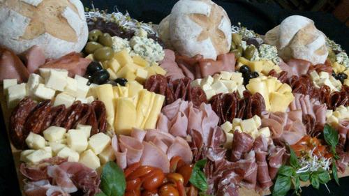 tablas & mesas de fiambres y quesos - zona oeste - eventos