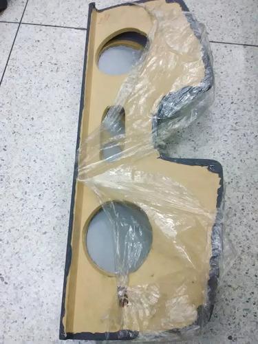 tablas para cornetas para aveo 4 puertas con maleta