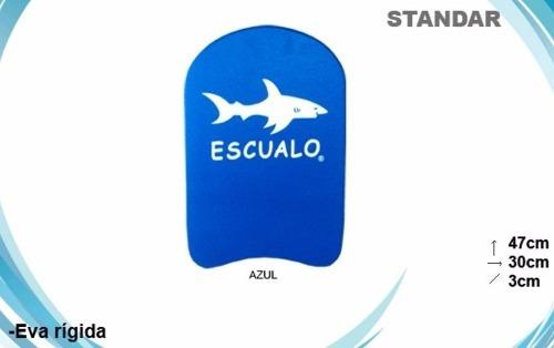 tablas para natación escualo, modelo estandar