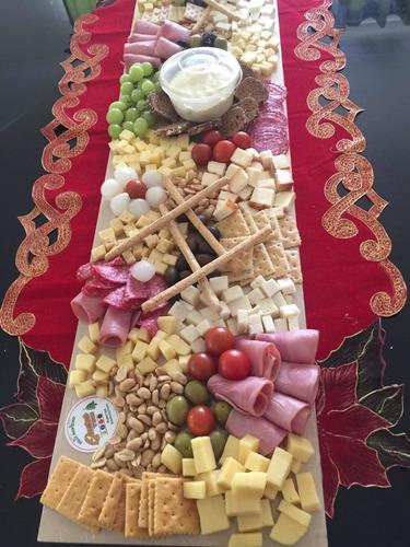 tablas para picoteo! dulces, saladas de quesos o mixtas