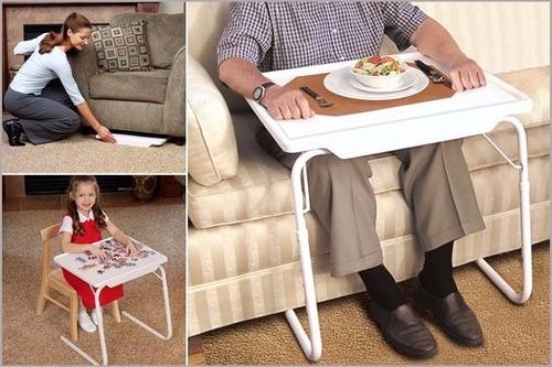 table mate iv  mesa plegable -  super portátil y practica