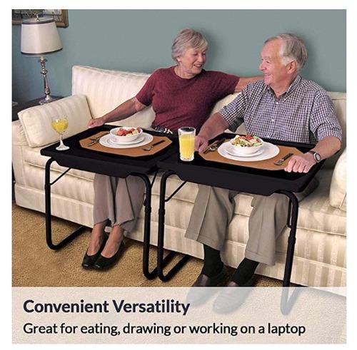 table mesa plegable 6 alturas y 3 angulos lectura comida neg