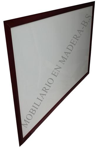 tablero acrílico borrable 120 cm x 80 cm nuevo