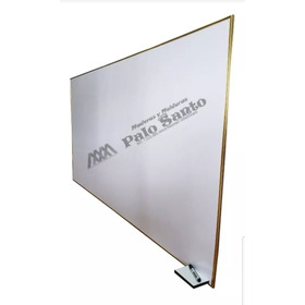 Tablero Acrílico Liso 1.20cm X 80cm Perfil En Aluminio