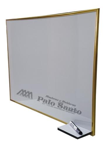 tablero acrílico liso aluminio con tripode 1.23cm x 0.80cm