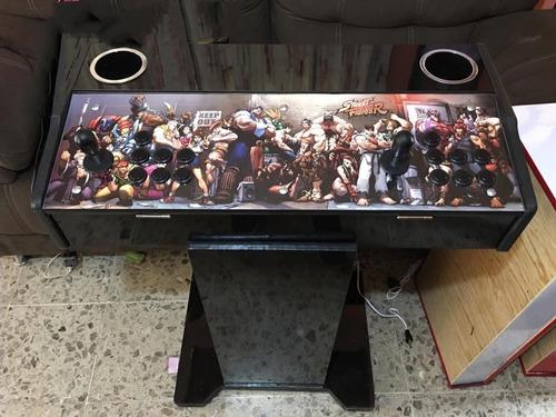 tablero arcade con base 2072 juegos