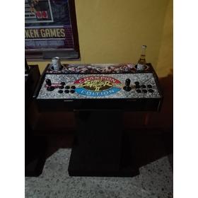 Tablero Arcade Con Base Y Portavasos
