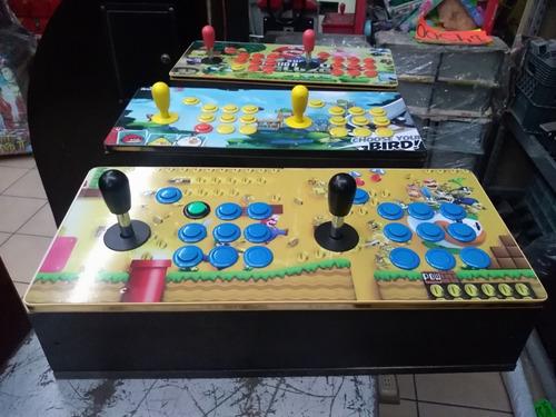 tablero arcade con juegos  (solo conecta a la tv) y a jugar*