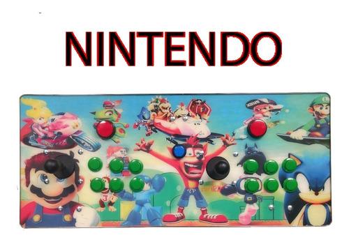 tablero arcade con pandora 9s uso casero envio incluido
