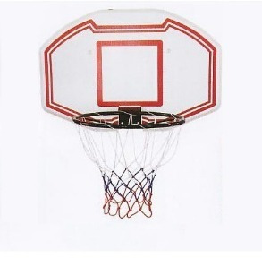 tablero aro basketball basquetbol medida oficial / diverti