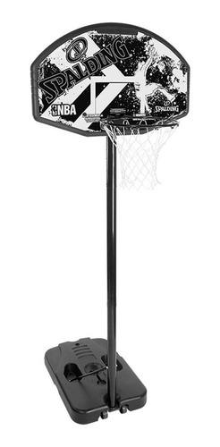 tablero basket jirafa spalding alley oop 44´ basquet aro metal altura regulable