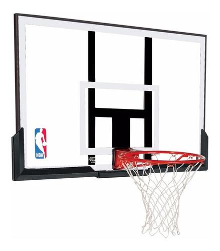 tablero basquet acrilico spalding basket aro red 50´´