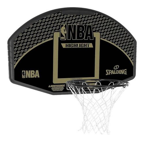 tablero basquet + aro spalding basket nba fan highlight 44´´