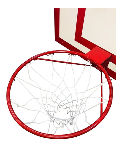 tablero basquet p/ exterior aro macizo reforzado red cuotas
