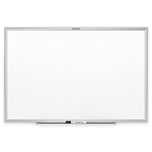 Tablero blanco de 24 39 39 x 18 39 39 marco de aluminio plateado en mercado libre - Tablero blanco ...