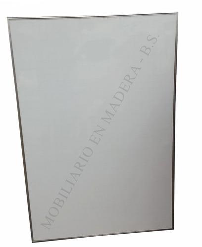 tablero borrable con cuadricula 120cmx80cm  perfil alumino