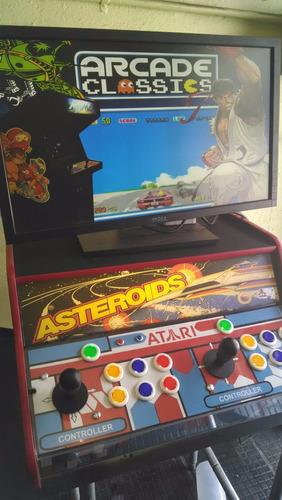 tablero botonera arcade con sistema integrado multijuego