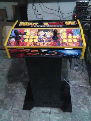 tablero con base de  pandora 5s arcade retro 1299