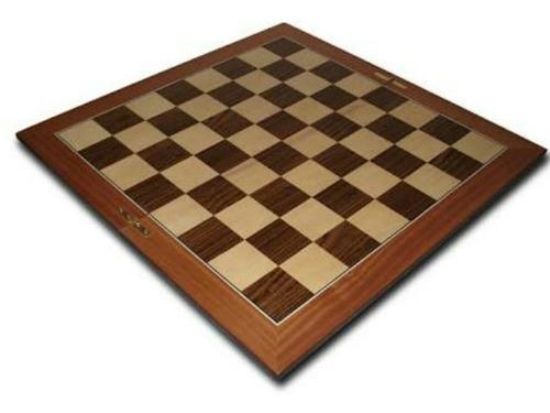 tablero de ajedrez de madera tamaño profesional