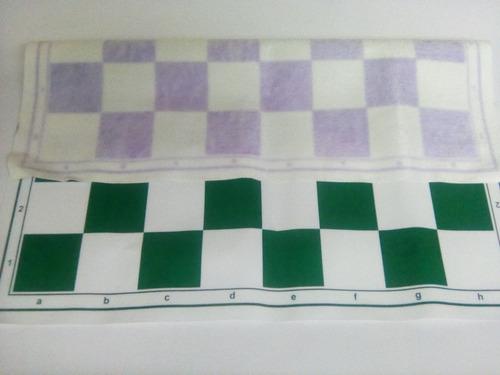 tablero de ajedrez medidas  46 x 46 2 x 100 mil