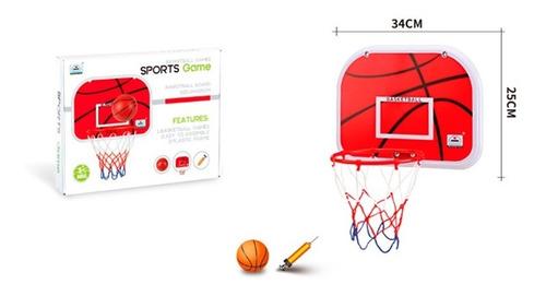 tablero de basquet 34 x 25cm 1817707 envio full