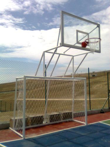 tablero de basquet mixto para instituciones