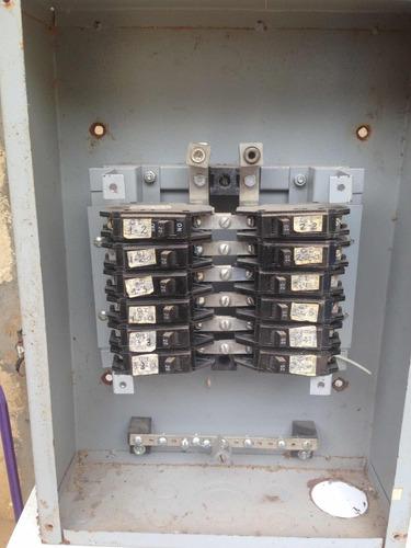 tablero de breaker de distribución de 12 circuito